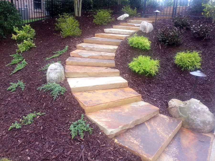 Landscape Steps And Walkways Professional Landscaping