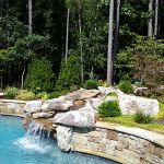 Pool landscapes after