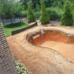 Pool Landscaping Solutions - Cambridge in Hamilton Mill, Dacula GA